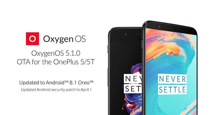 android 8.1 oneplus 5t