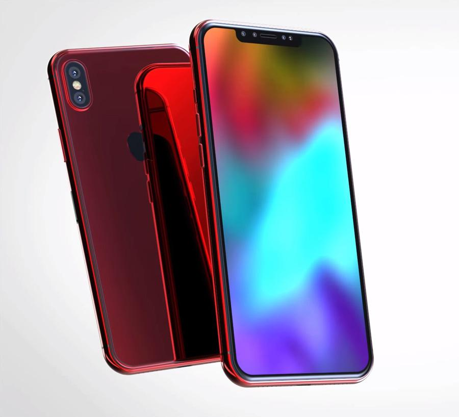 iPhone X en color rojo
