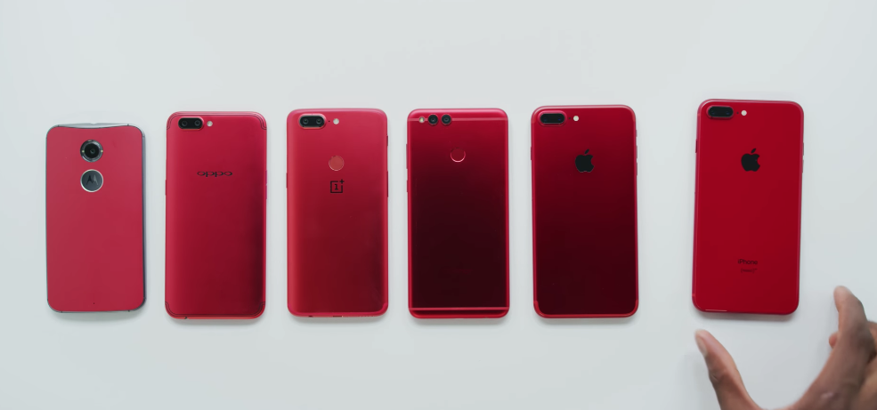 iphone 8 plus rojo