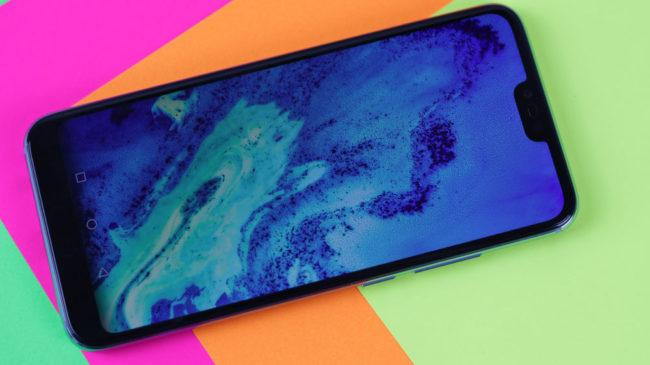 Aspecto frontal del Honor 10