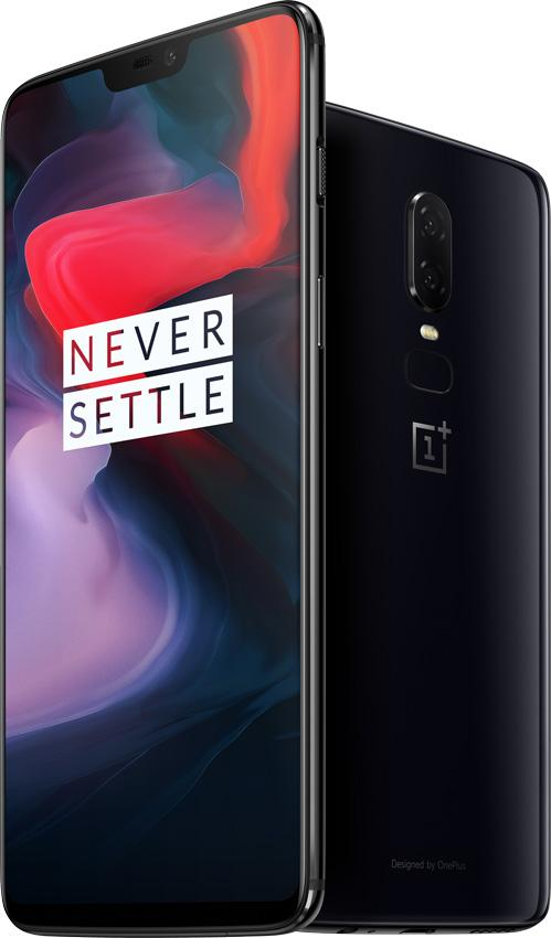 OnePlus 6 en color negro