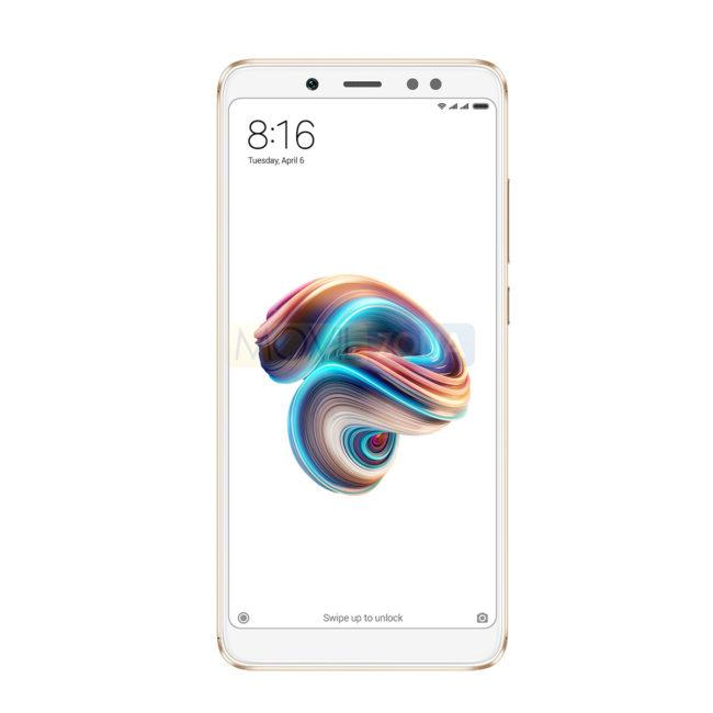Xiaomi Redmi Note 5 blanco