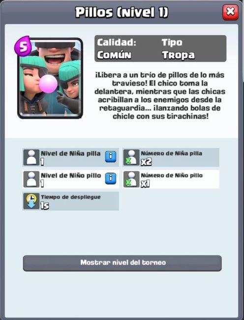 carta clash royale