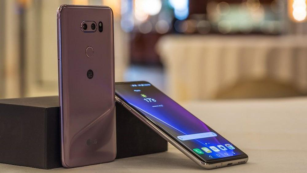 Image result for LG V40 to have five cameras in total, three of them on the back