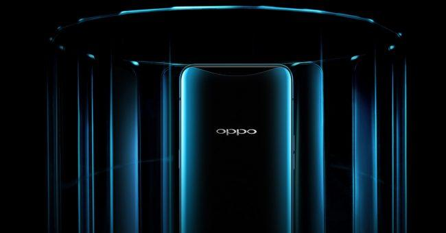 Oppo Find X en color azul