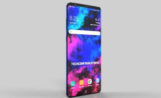 Samsung Galaxy S10 Plus-concepto