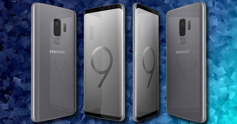 galaxy s9 titanium grey