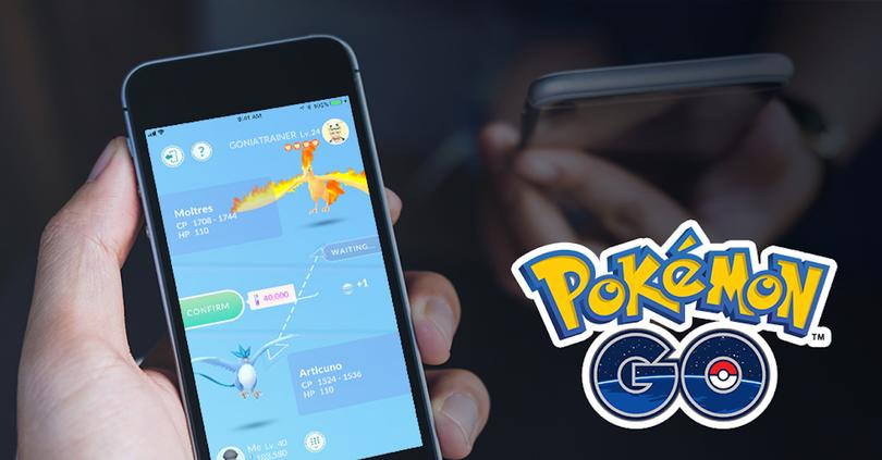 intercambios pokemon go