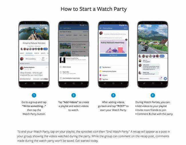 Facebook-Watch Party