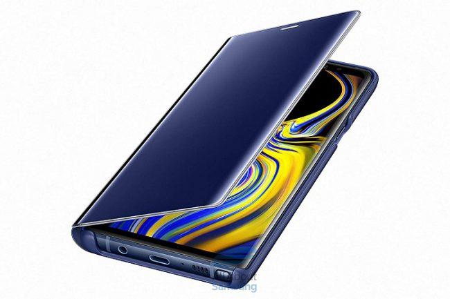 Galaxy Note 9-Funda Clear View-colores