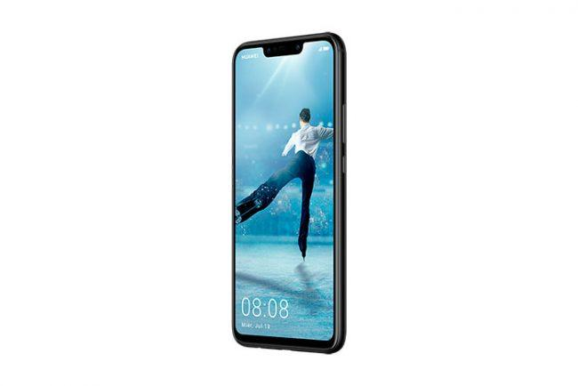 Huawei P Smart+ negro lateral