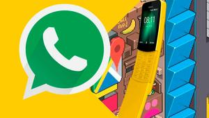 Vídeo de WhatsApp en KaiOS, el SO del Nokia 8110 Reloaded