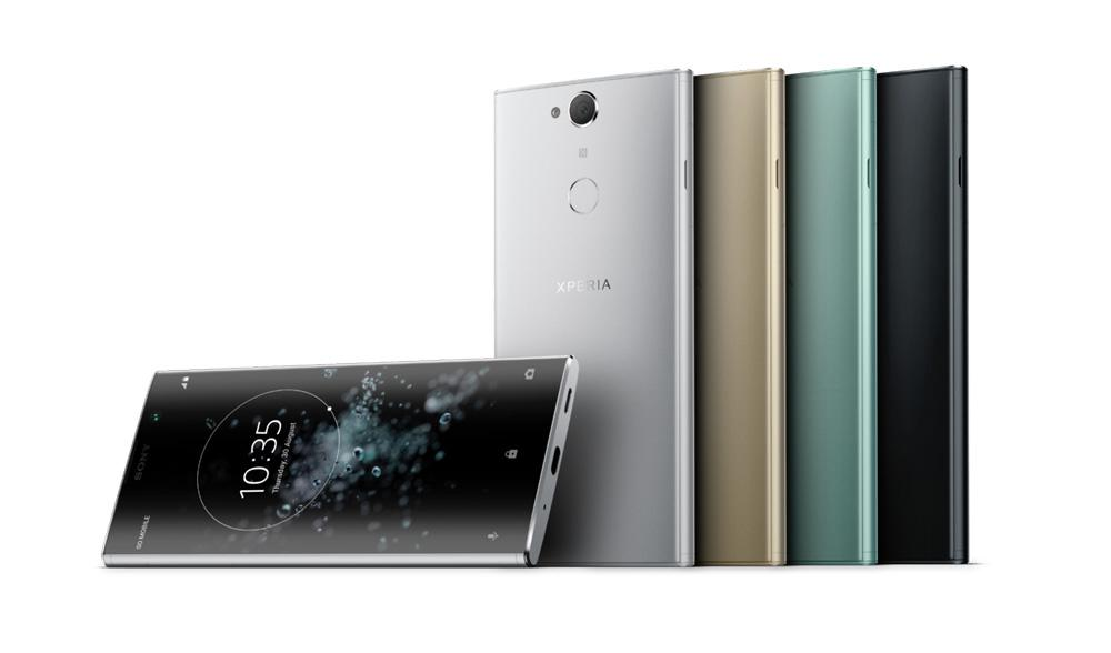 Colores disponibles para el Sony Xperia XA2 Plus