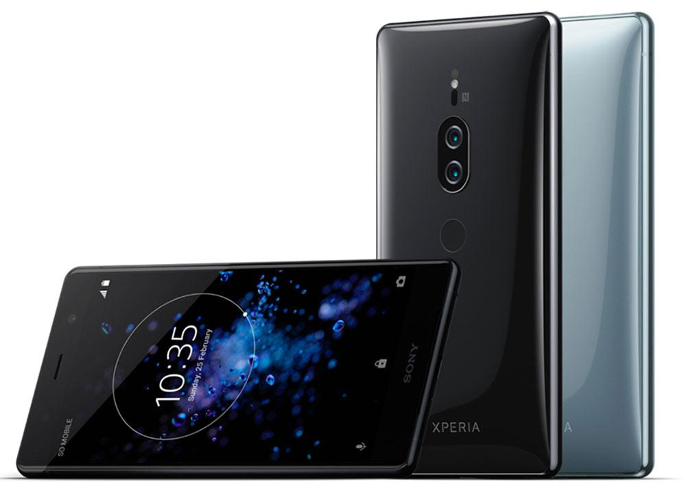 Distintos colores disponibles para el Sony Xperia XZ2 Premium
