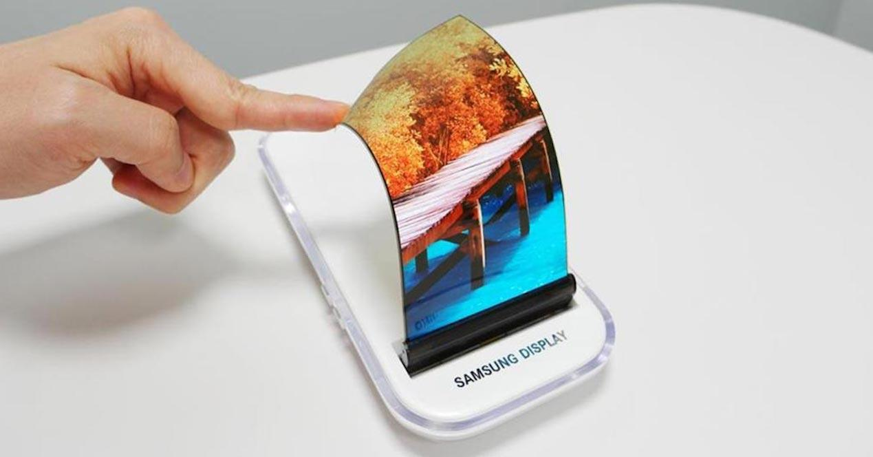panel oled samsung flexible