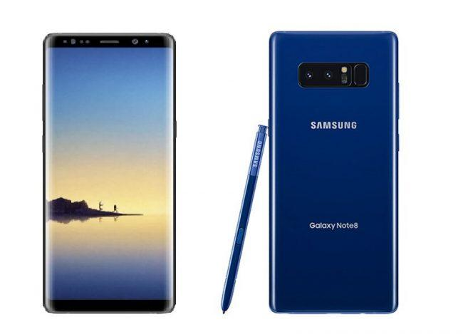 Galaxy Note 8-frontal-trasera