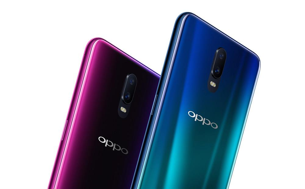 Colores disponibles del Oppo R17