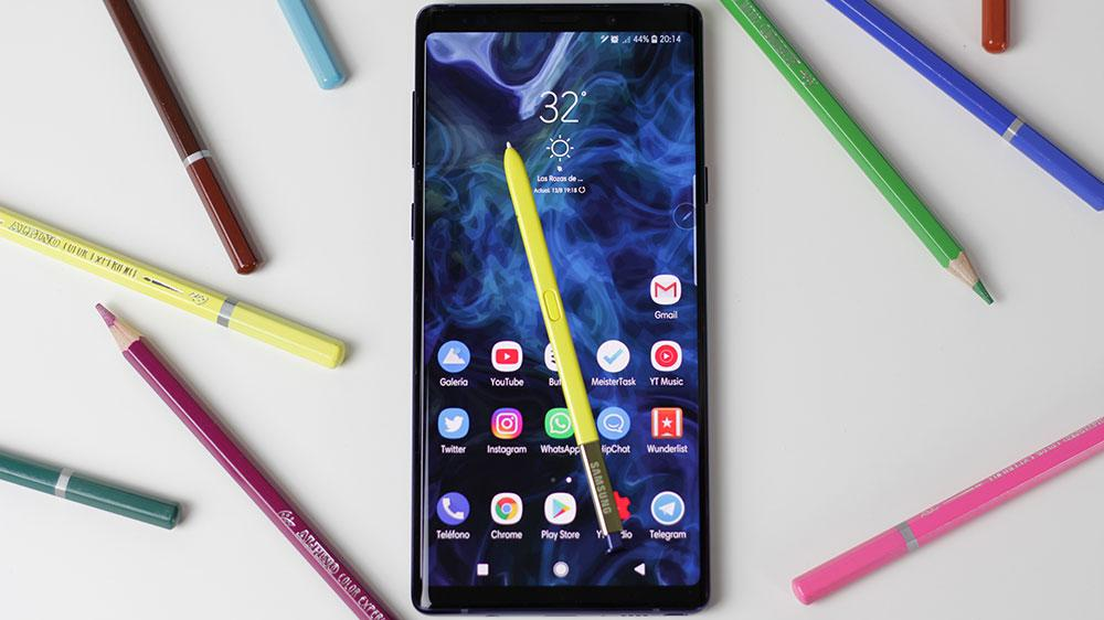 S Pen del Samsung Galaxy Note 9