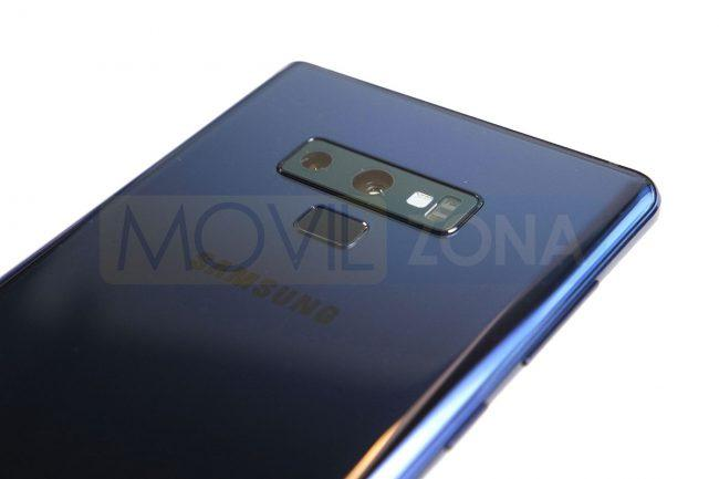 Samsung Galaxy Note 9 Cámara con doble lente