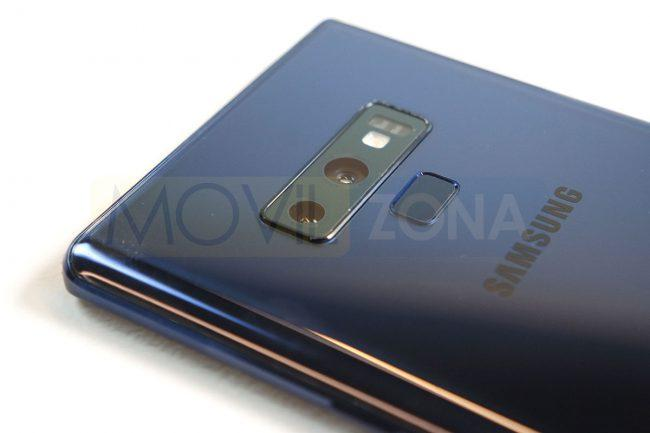 Samsung Galaxy Note 9 doble cámara