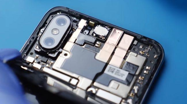 Xiaomi Mi 8 Explorer Edition-interior-placa base real