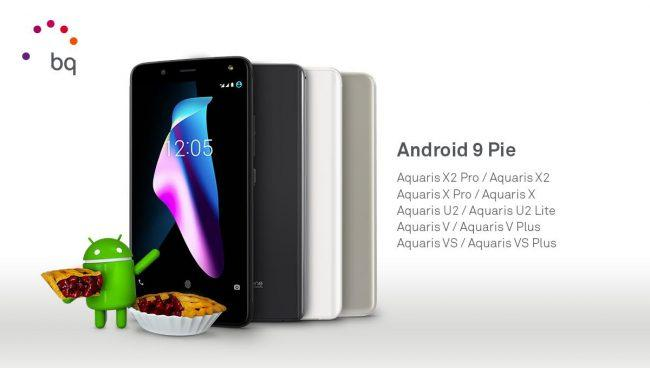 moviles bq android pie