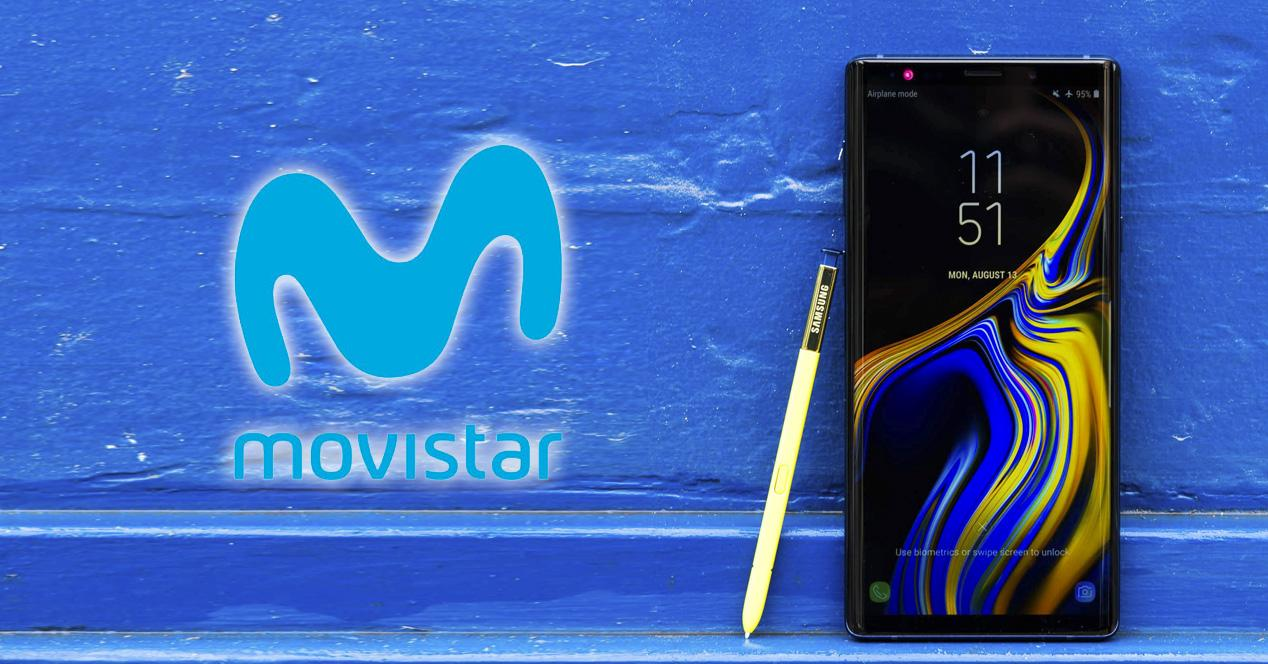 Samsung Galaxy note 9 movistar