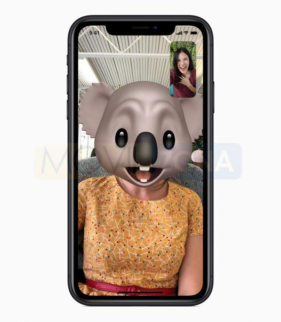 Apple iPhone XR emoji
