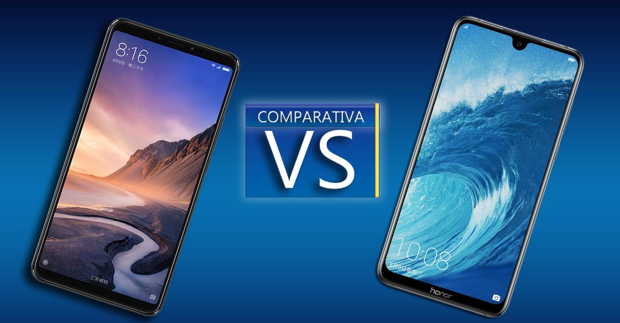 Comparativa Xiaomi Mi Max 3 VS Honor 8X Max