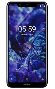 Frontal del Nokia 5.1 Plus