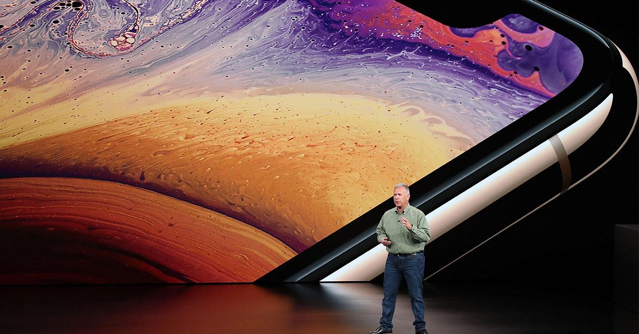 Pantalla del iPhone XS Max