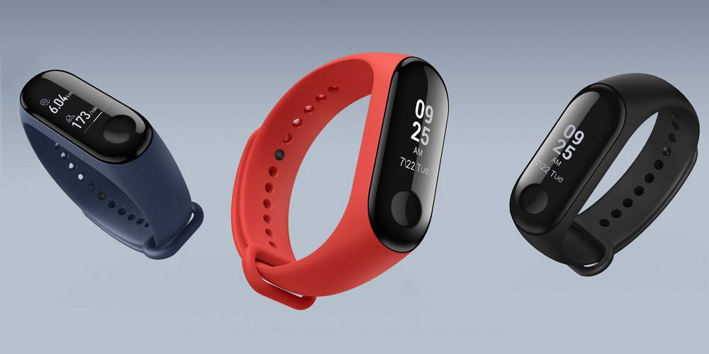 Colores disponibles para la Xiaomi Mi Band 3