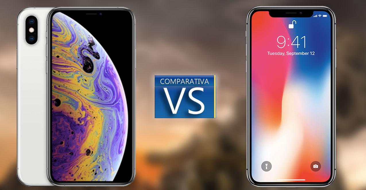 bateria iphone x vs xs