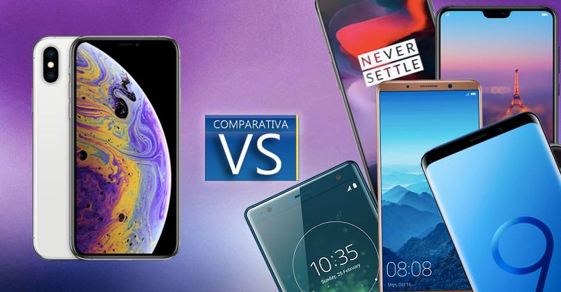 iPhone xs vs topes de gama