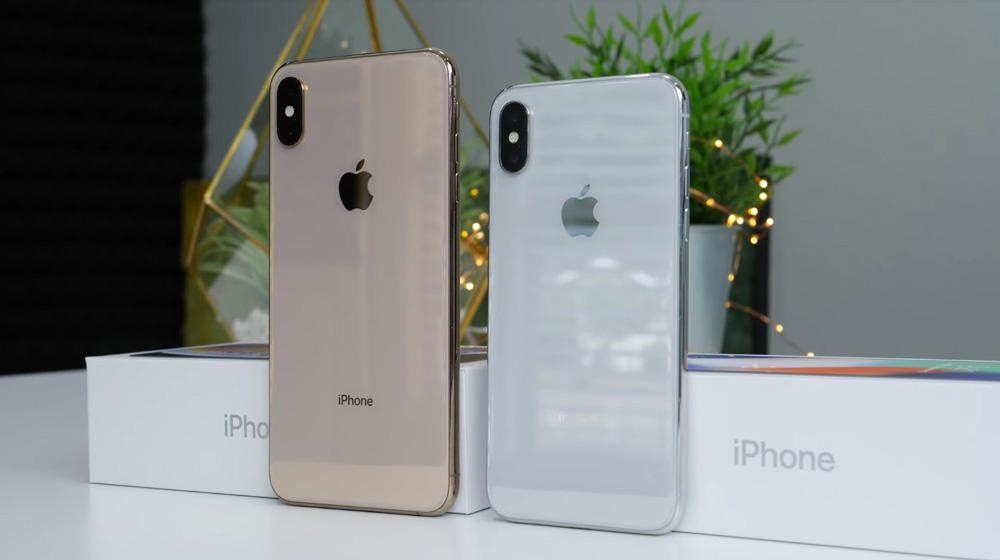 Comparativa del iPhone XS Max
