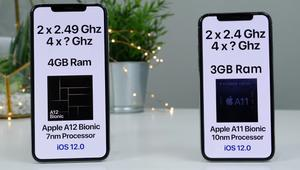 iPhone XS Max VS iPhone X: test de velocidad en vídeo