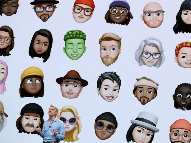 memoji iphone