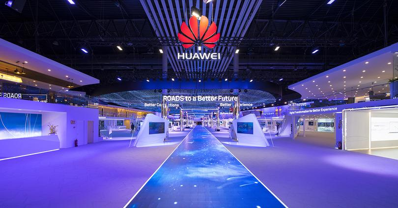 huawei stand mwc