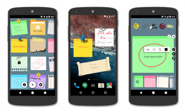 post it android