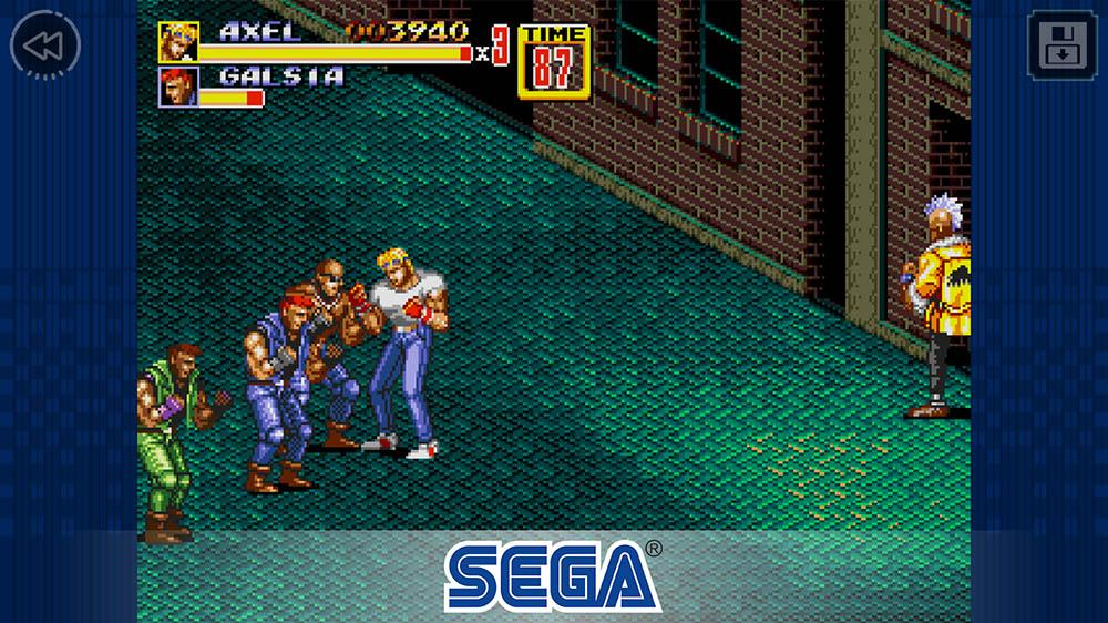 street of rage mega drive android