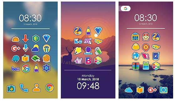 Morent - Icon Pack