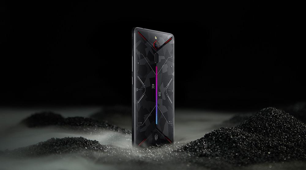 Diseño del Nubia Red Magic Mars
