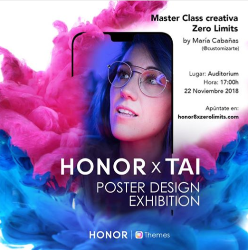 Honor 8X concurso en Madrid