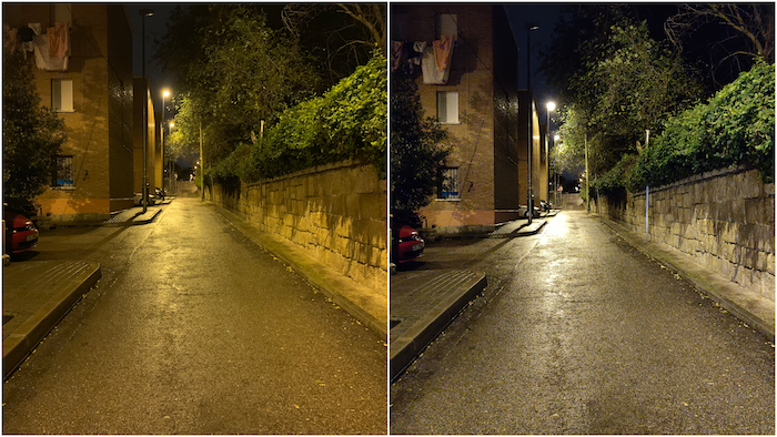 comparativa fotos iphone xs vs oneplus 6t