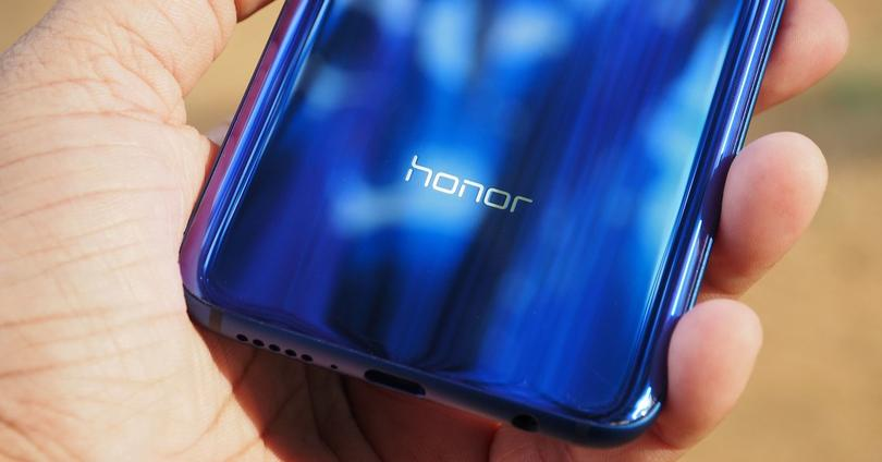 Honor View 10 trasera