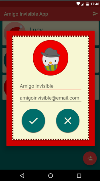 amigo invisible app