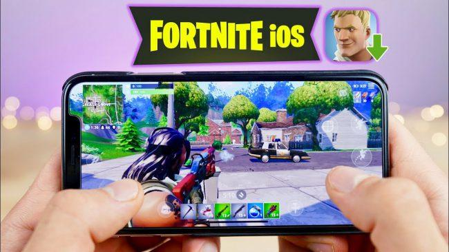 fortnite ios iphone