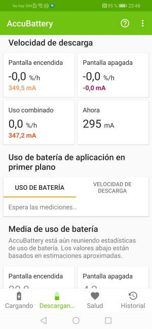 Consumo de Honor 10 Lite