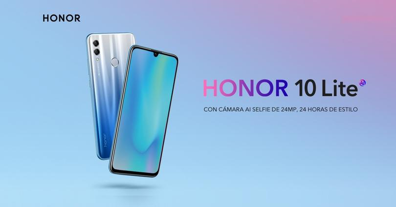 Honor 10 Lite Portada