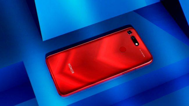 Honor View20 rojo